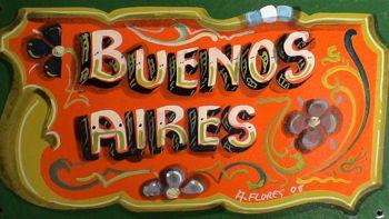 Buenos Aires Filete painting
