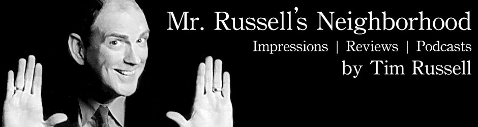 Russell Reviews Blog | Movie, Film & Entertainment Reviews by Tim Russell