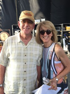 Tim And Sue at the 2015 Fair